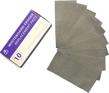 Vista whiteboard eraser replacement pads