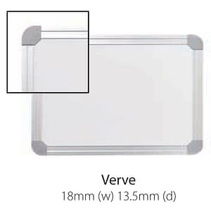 Vista Australian Made Whiteboard with Verve Trim