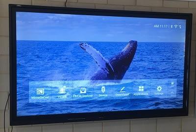 """Link Media EvolutionX 75"""" Interactive LED"""