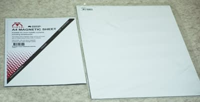 photo of Vista Magnetic Sheet in A4 and A3 size