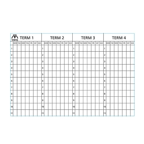 image of the Vista 4 term planner type 4