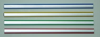 Picture of the 4 colours of Vista Magnetic Bars