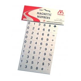 Photo of Vista Magnetic Numbers