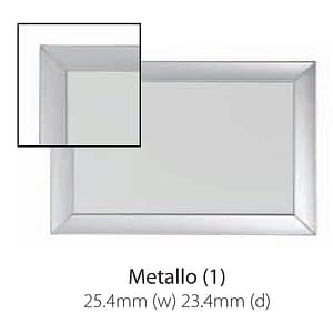 Vista Australian Made Whiteboard with Metallo Trim