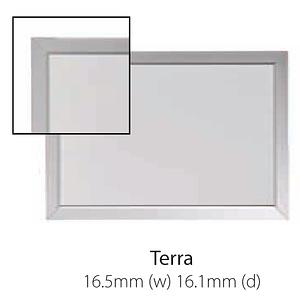 Vista Australian Made Whiteboard with Terra Trim