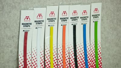 photo of Vista Magnetic Strips in packet 7 colours