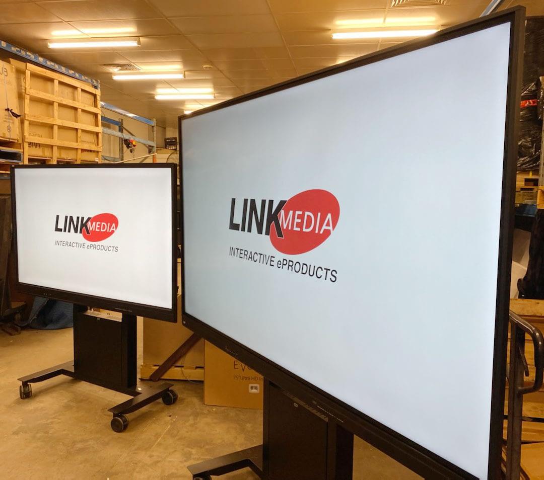 Photo of LinkMedia TJ-75 and TJ-98 adjacent
