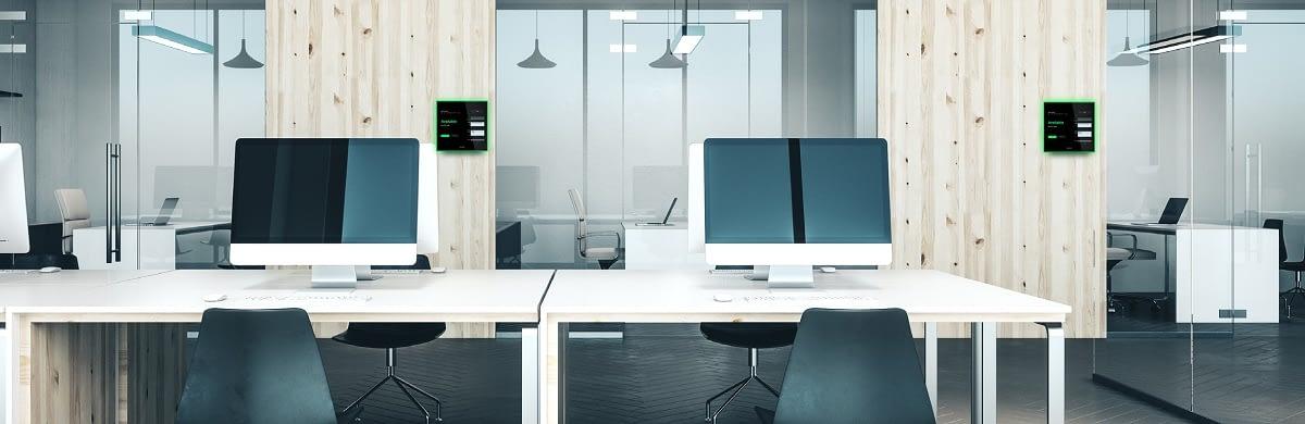 Evoko Naso desk booking system