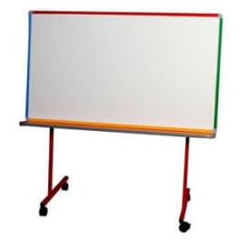 image of the Big Book Buddy mobile height adjustable whiteboard.