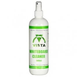 Vista green whiteboard cleaner
