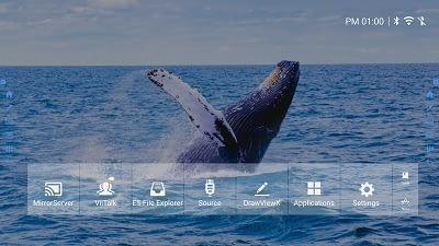 Link Media EvolutionX On screen start menu
