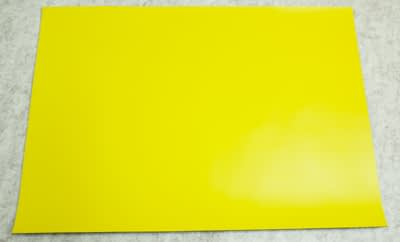 image of Vista Magnetic Sheet A3 Yellow no packaging