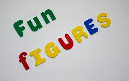 Picture of Cretive Kids Fun Figures spelling fun figures