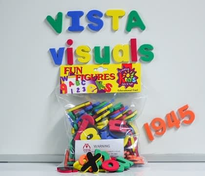 Vista Fun Figures magnetic alphabet