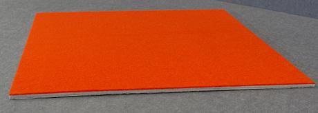 Side view of Vista DIY pin board tile
