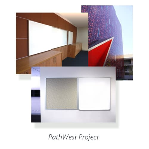 Montage of images of boards manufactured for Pathwest